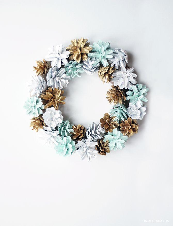 DIY HIMMELI GARLAND / HIMMELI KUUSENKORISTE      Joulu alkaa lähestyä ja mietin jo minkälaista joulukoristeprojektia tekisi tälle joulul...