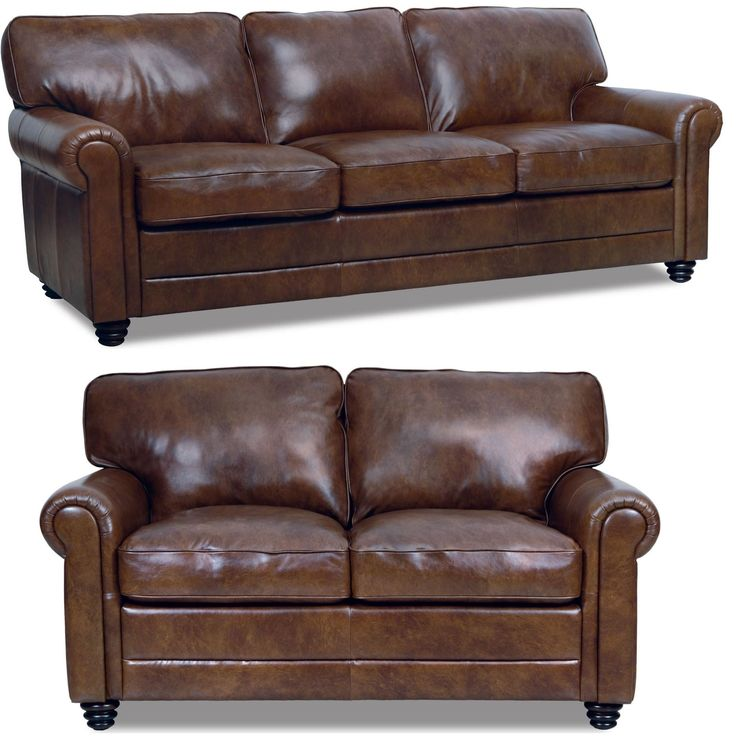 Andrew Italian Leather Living Room Set Part 49