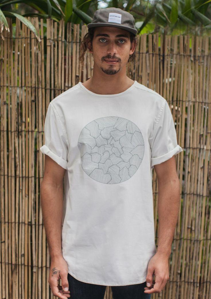 Ethical Fashion at Just Fashion - Aleatory No-stretch T-shirt