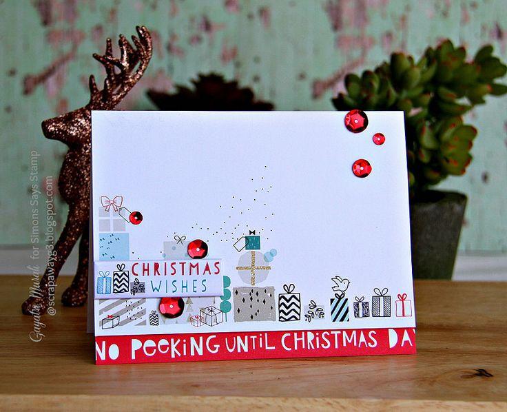 Simon Says Stamp December Card Kit Cards