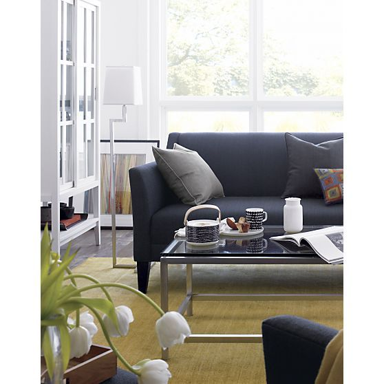 margot sofa crate barrel living room design ideas