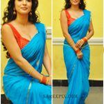 Vaibhavi joshi in transparent saree photos
