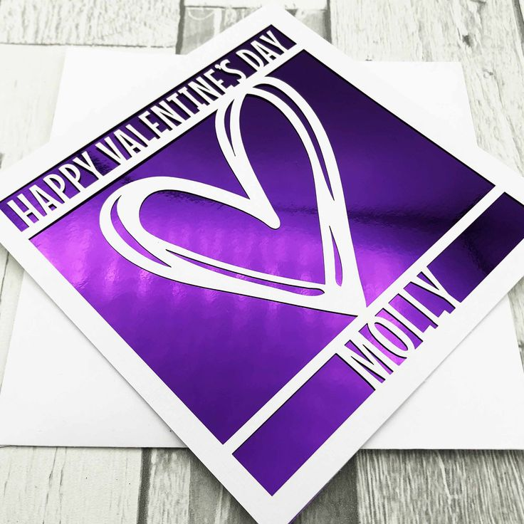 personalised valentine's day cardvalentine's cards