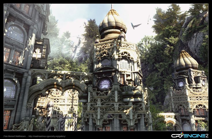 CryEngine2 - Realtime Fantasy Game Environment - Part 3 by Finn Meinert Matthiesen | 3D | CGSociety
