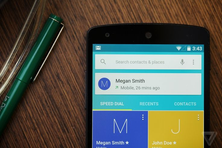 Using Android L: a first look at Google's future | The Verge