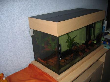 Aquarium Abdeckung selber bauen