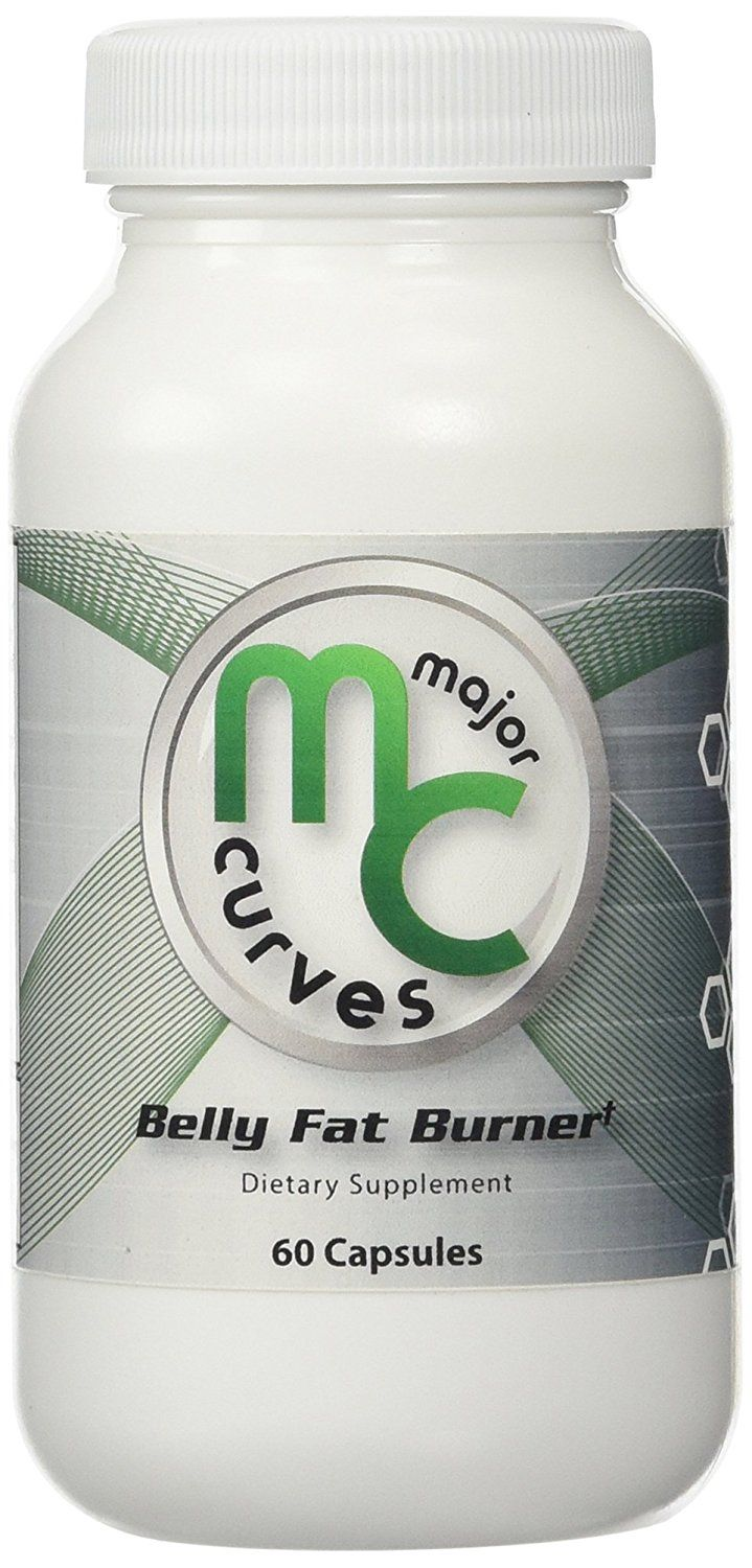 Major Curves Belly Fat Burner (1 Bottle) ** Tried it! Love it! Click the image. : Weight loss Supplements