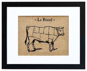 Le Boeuf Art - eclectic - prints and posters - Fiber and Water