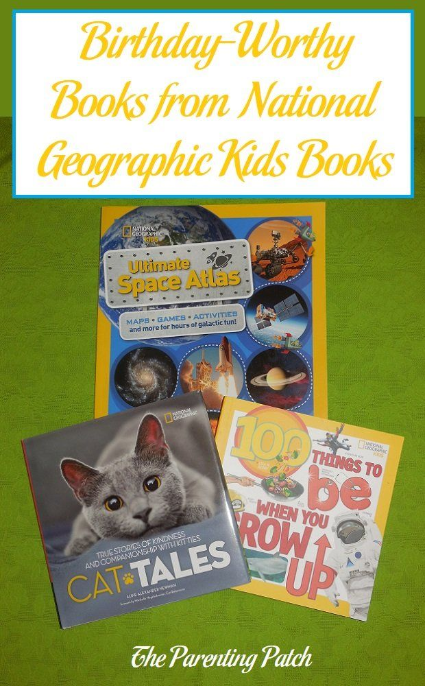 Extremely positive book reviews of '100 Things to Be When You Grow Up,' 'Cat Tales: True Stories of Kindness and Companionship with Kitties,' and 'National Geographic Kids Ultimate Space Atlas' from National Geographic Kids.