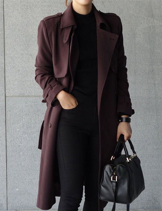 that trench coat is such a beautiful color, and the overall fit is perfect                                                                                                                                                                                 More