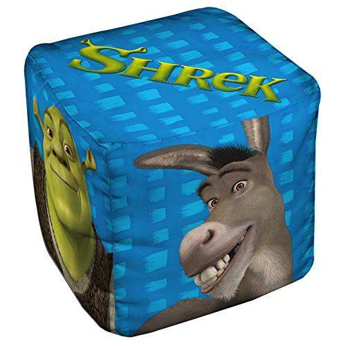 Shrek Pals Cube(Ottoman) White 18X18X18 @ niftywarehouse.com #NiftyWarehouse #Shrek #Movies #Movie