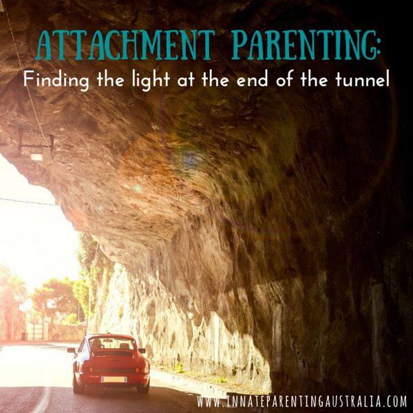 When you're in the thick of parenting - breastfeeding, co-sleeping, lots of cuddles and lots of giving-of-self - it can feel overwhelming. Here's your reminder that there is a light at the end of the attachment parenting tunnel. You too can appreciate the glimpses x