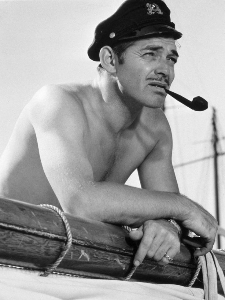 "Clark Gable: Actor, ""The King of Hollywood"", & Pipe Smoker - Tobacco Pipe Smoking   If I were a man....I'd dress like that. 24/7 rain or shine. Winter or summer."