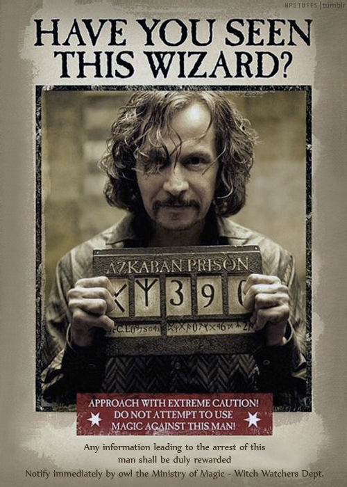 most wanted see more have you seen sirius black