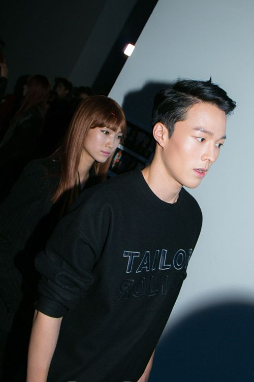 """"""" Backstage at METROCITY SS15 SFW shot by Park Ji Ae """""""