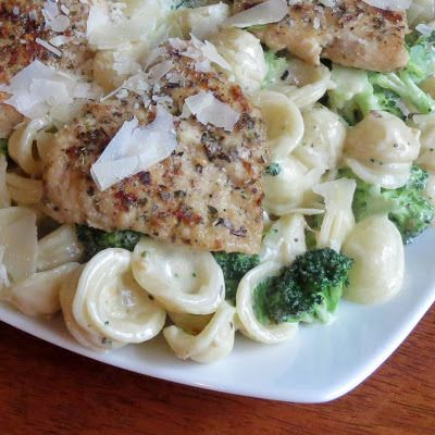 Homemade Garlic Herb Chicken con Broccoli (Olive Garden) | Rumbly in my Tumbly