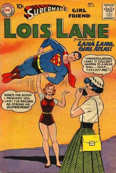 For the most powerful being on the planet, Superman is one passive sumbidge, I'll tell you what.