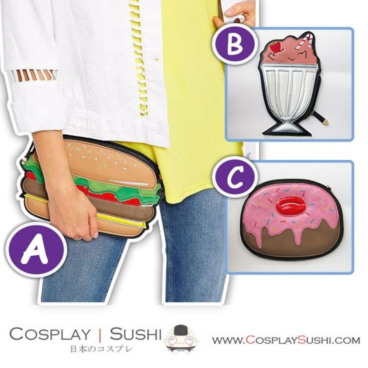 Get our NEW Sweet Looking Dessert Handbag! SHOP NOW ► http://bit.ly/1VWRs9e Follow Cosplay Sushi for more cosplay ideas! #cosplaysushi #cosplay #anime #otaku #cool #cosplayer #cute #kawaii #sweet #desseert #bag #amazing #awesome #fashion #design #style