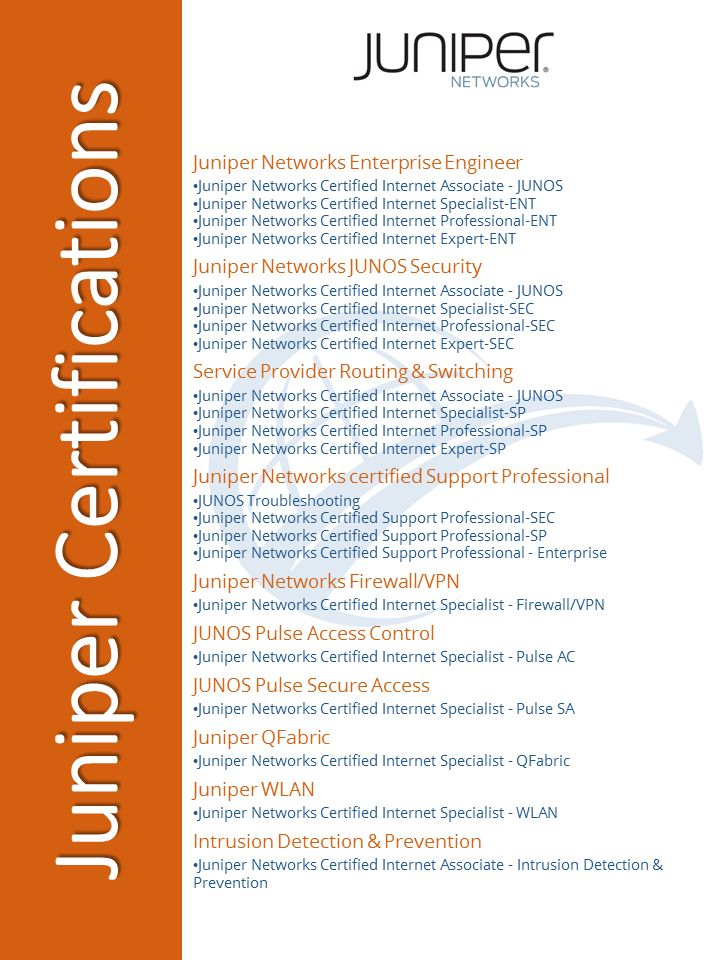 #Juniper #Networks #certification #training at #DWWTC includes the full range of Juniper IT areas.