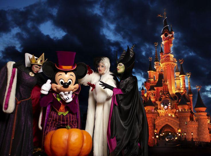 Halloween à Disneyland Paris