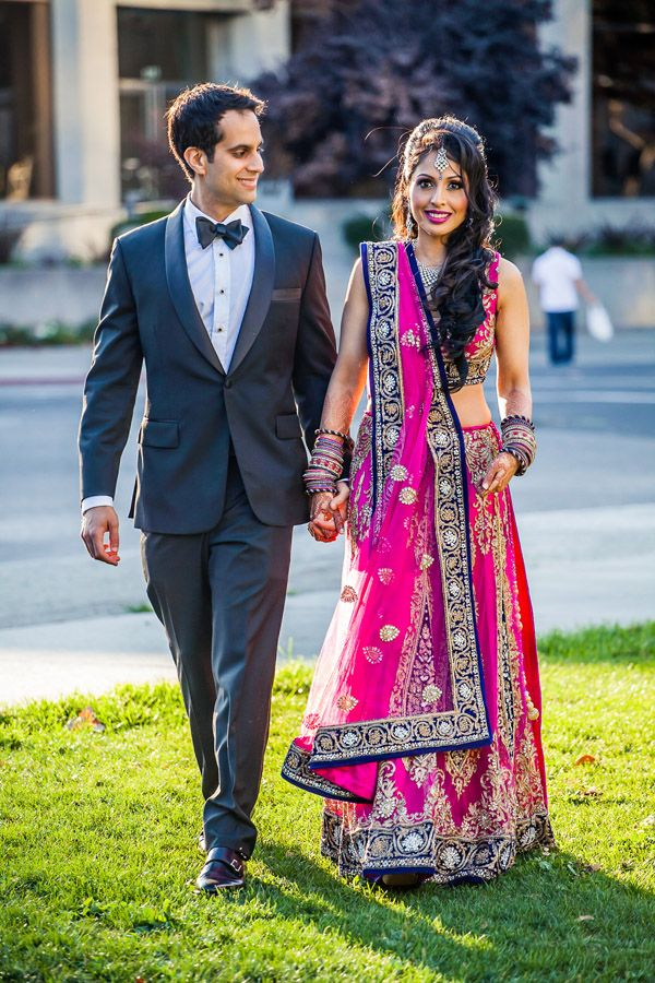 Wedding Of Rupa Shawn By San Francisco Indian Photographer