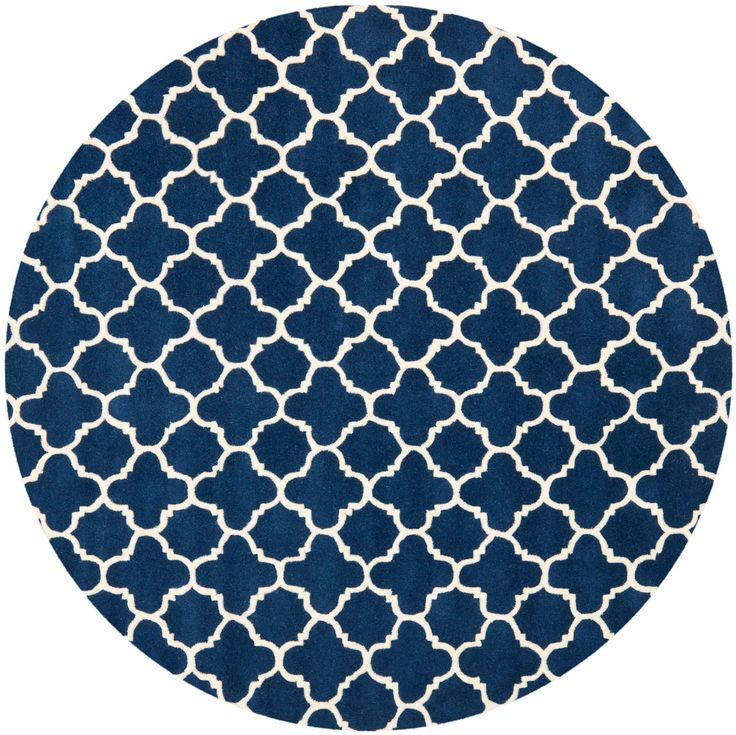 CHT717C Rug from Chatham collection.  A timeless quatrefoil motif makes a global…