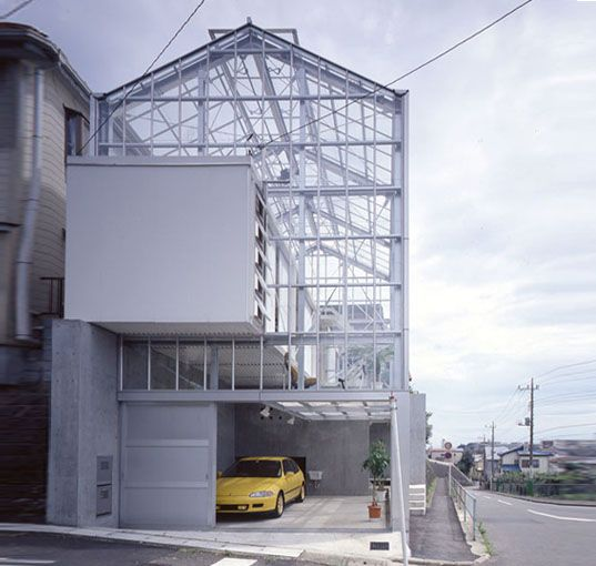 Transparent F3 House by Koh Kitayama Looks Like a Daylight-Filled Industrial Greenhouse | Inhabitat - 2012