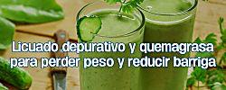 Bebe este licuado antes de acostarte para perder peso, ¡funciona!