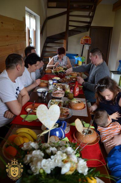 Rodzinne świąteczne śniadanie