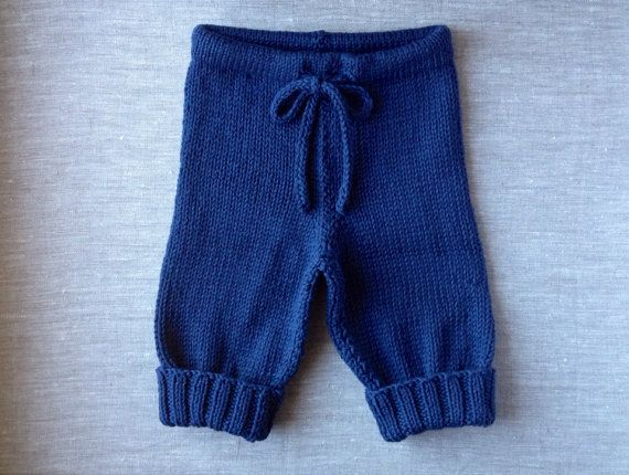 MADE TO ORDER///Custom Hand Knit Baby Drawstring by KnitsieBitsie