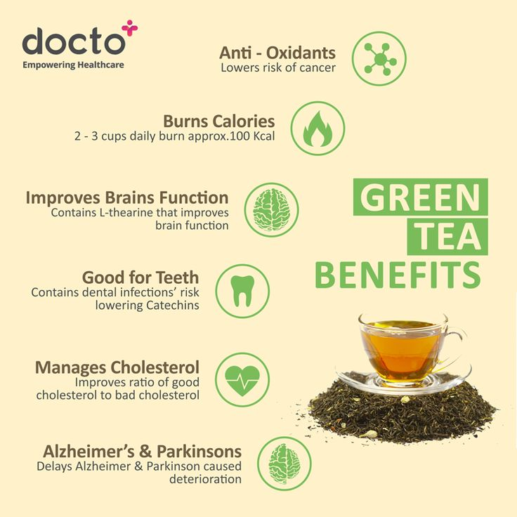 6 benefits of #greentea for a #healthier living and better you. #docto