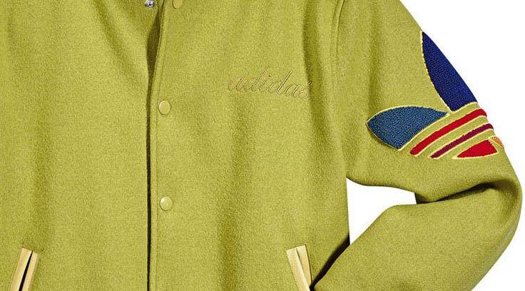 Adidas университетская куртка