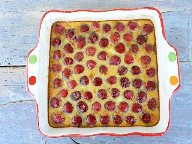 Cseresznyés clafoutis (gluténmentes)