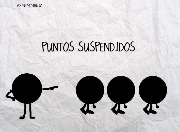 Puntos suspendidos - Happy drawings :)