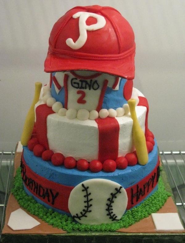 41 best pasteles images on Pinterest Baseball party Baseball