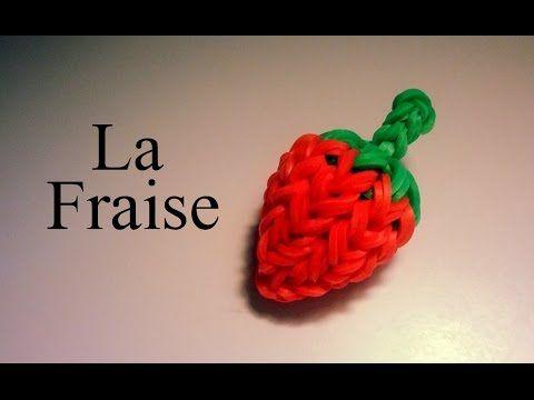 ▶ Comment faire une fraise 3d avec des élastiques sans machine - YouTube