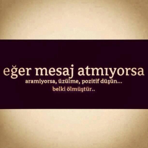 pozitif düşün... ;)