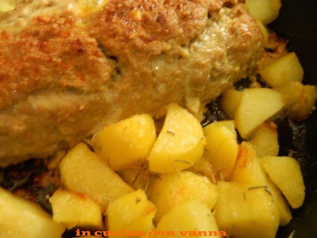 in cucina con vanna: Polpettone con mortadella e friggitelli