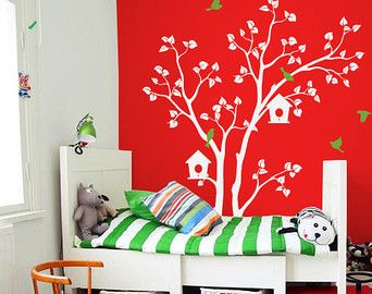 Sticker murale Stickers decal grande albero di ONWALLstudio