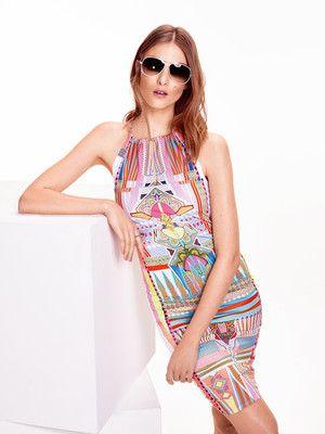 105 15-06_Sommerkleid Neckholderkleid für schöne Print-Stoffe