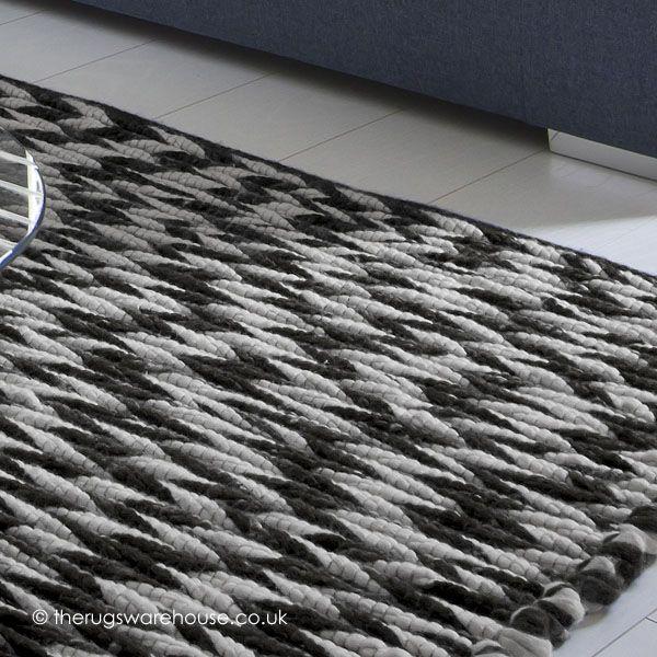 Sydney Cream Black Rug Texture Close Up An Ultra Luxurious Monochrome New Zealand