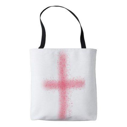 blood of christ cross bag - diy cyo personalize design idea new special custom