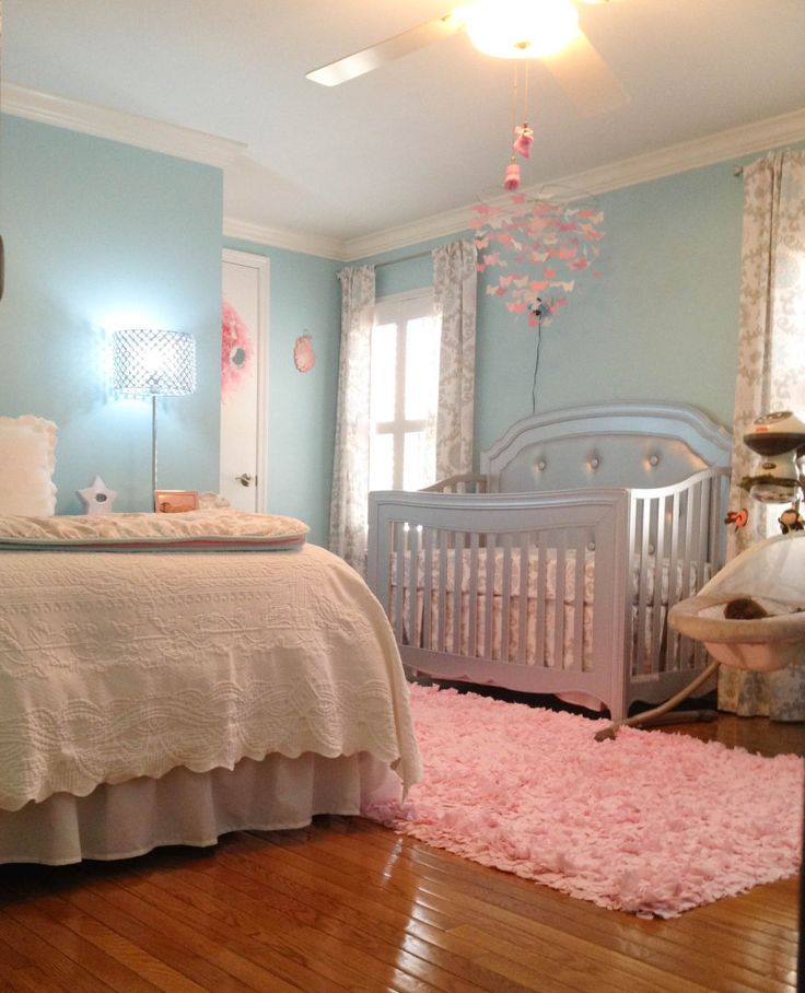 51 best shared master bedroom and nursery images on for Master bedroom with attached nursery