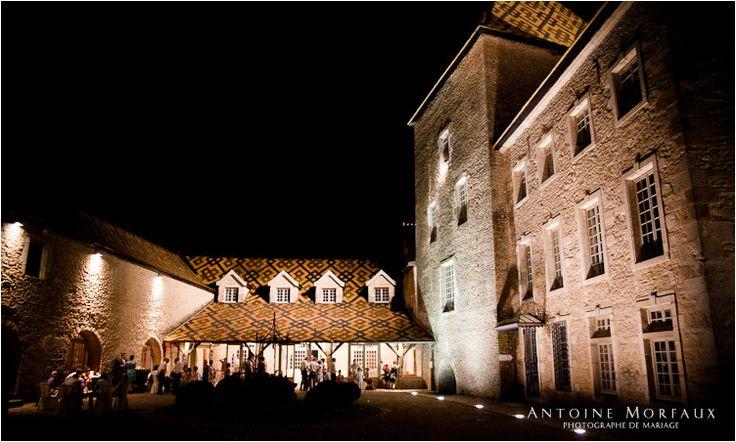 Evening at Chateau Santenay