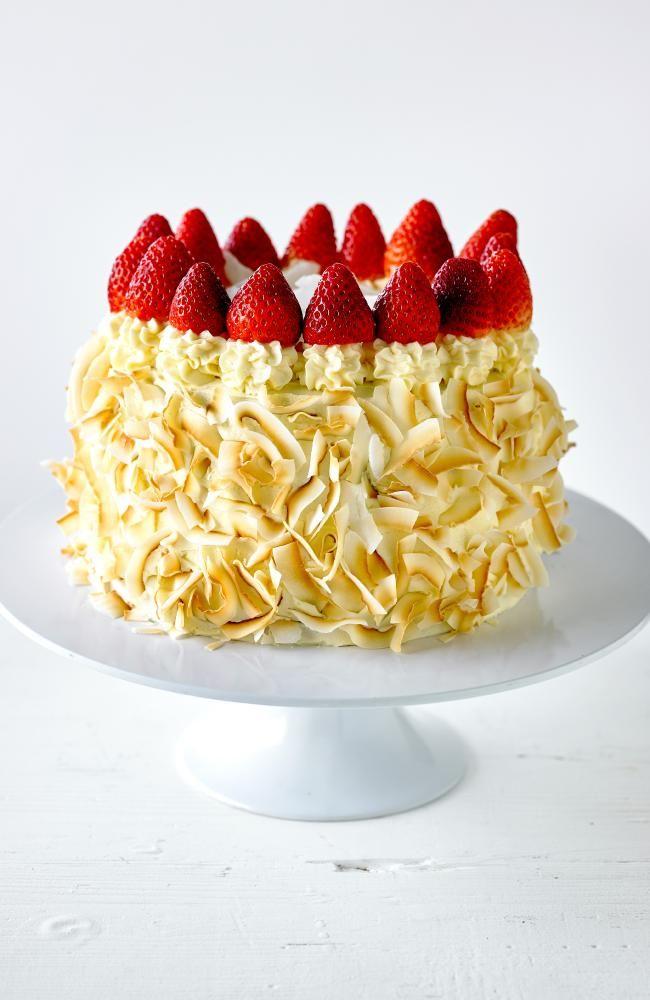 Julie Goodwin's coconut #cake recipe #sweet #dessert