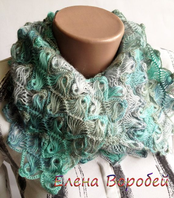 156 best Bufandas images on Pinterest | Scarfs, Head scarfs and Knit ...