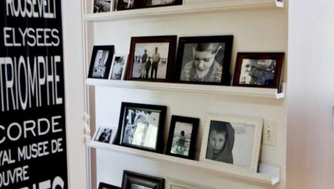 Fotowand selber machen - kreative Inspirationen für Ihre Lieblingsbilder