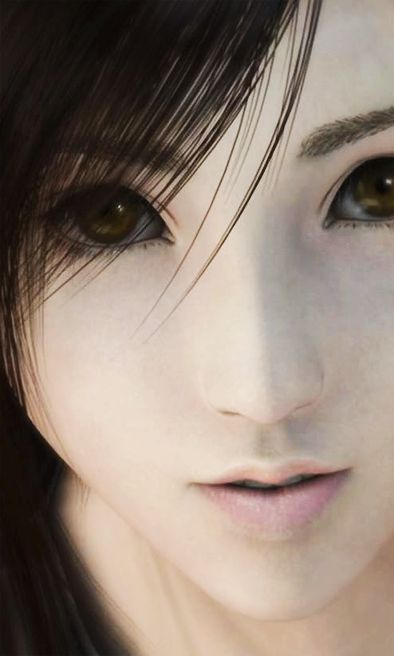 Tifa Lockhart - Final Fantasy VII Advent Children. Gorgeously  done. I applaud this CGI animation effort.