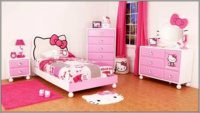 generation 2 worldwide toddler bed | Turn Your Little Girl's Room to a Hello Kitty World!