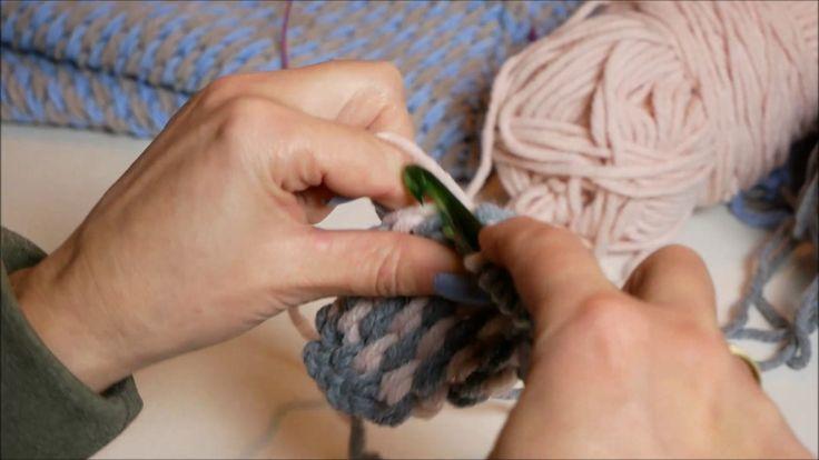 Workshop Tunisch haken, de Pingo Crochet Rose sjaal.